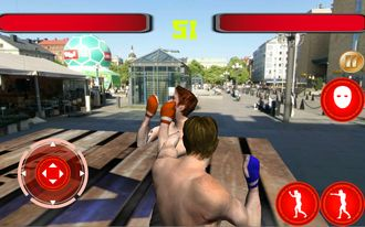 Boxing Street Fighter