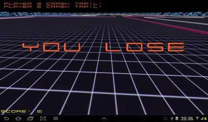 Tron 3d Lightbikeracing Hd
