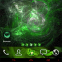 Green Flame Theme